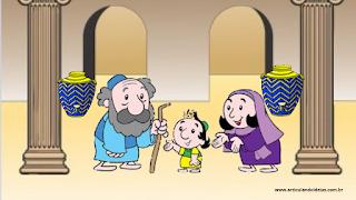 Ana cumpre sua promessa e leva Samuel ao templo para ficar com Eli