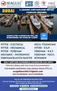 Dubai Shipyard Shiprepair Vacancies