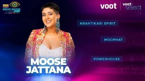 Bigg Boss OTT Contestant 4- Moose Jattana