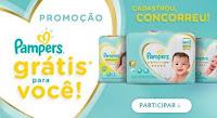 Promoção Pampers grátis pra você pampersgratisparavoce.com.br