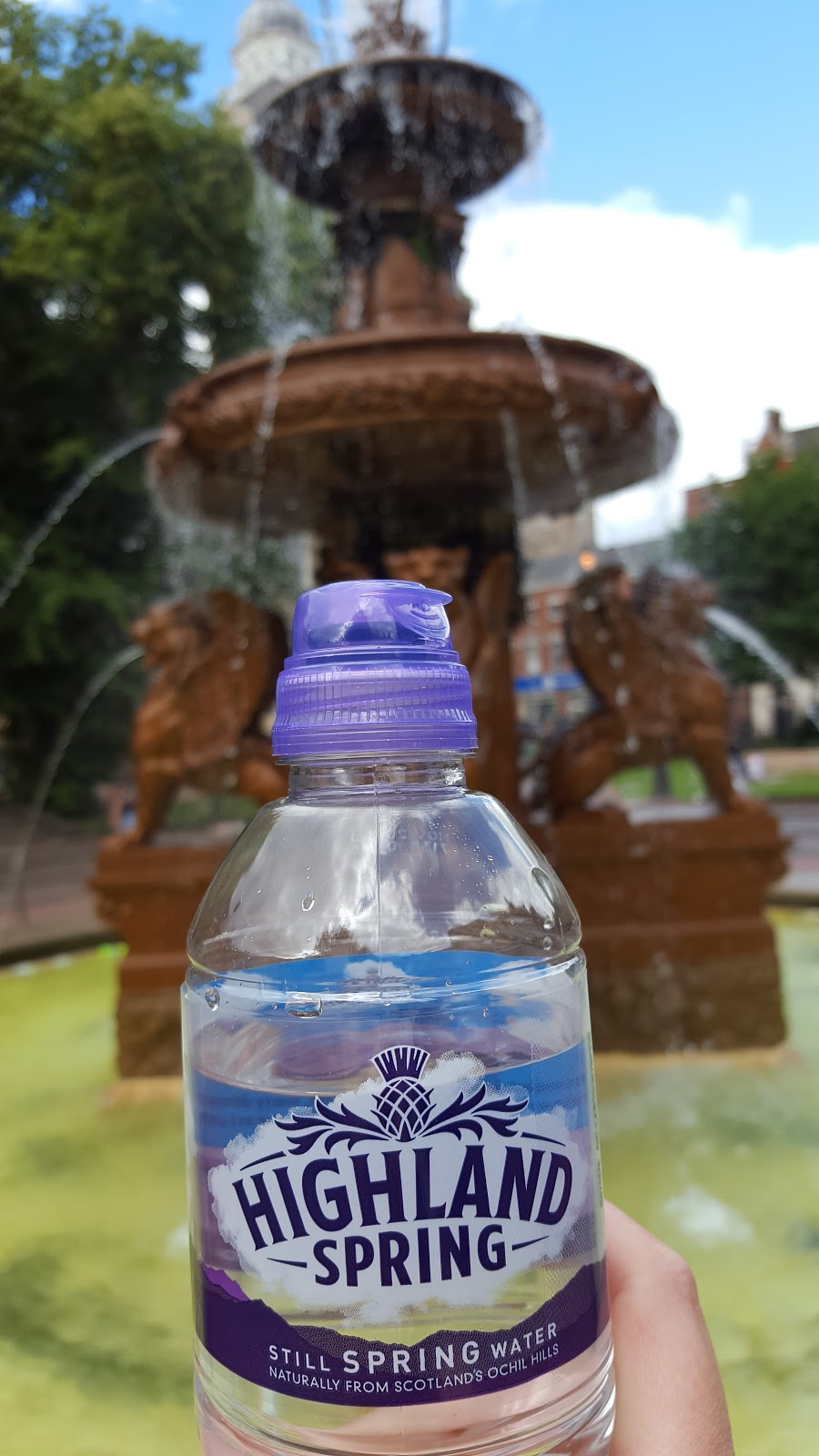 Keeping Hydrated With Highland Spring: Brave By Nature