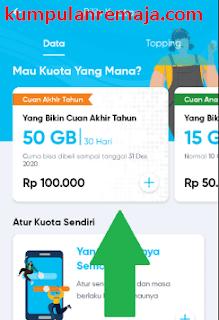 Cara Membeli Paket Internet 50GB Harga 100 Ribu kartu By u