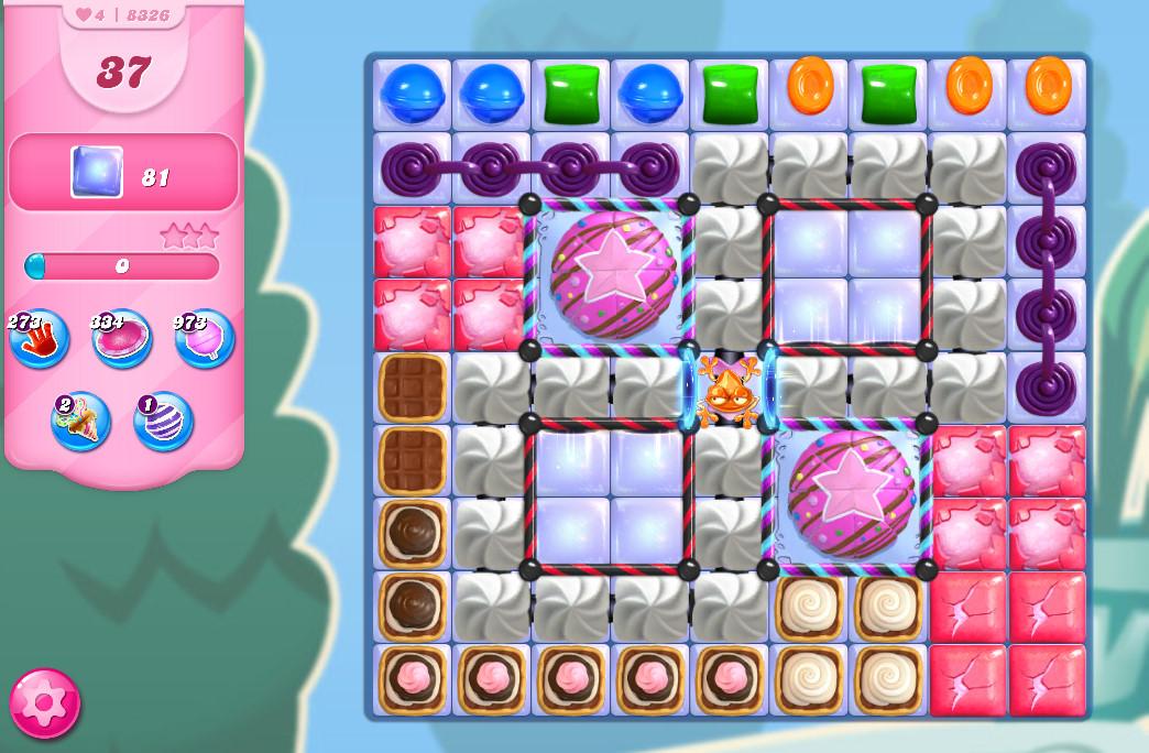 Candy Crush Saga level 8326