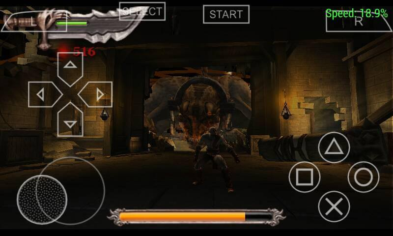God Of War Psp Data