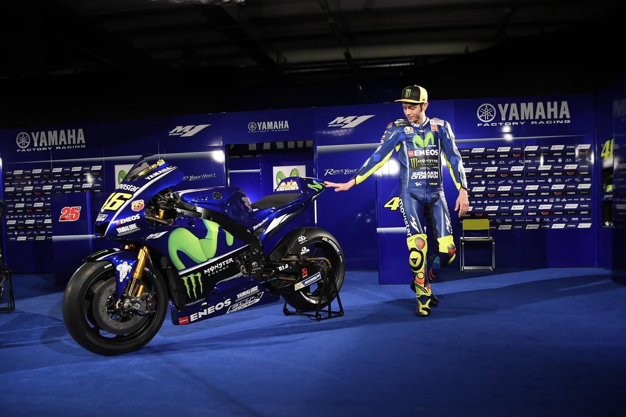 Valentino Rossi 2017 MotoGP Wallpaper - KFZoom