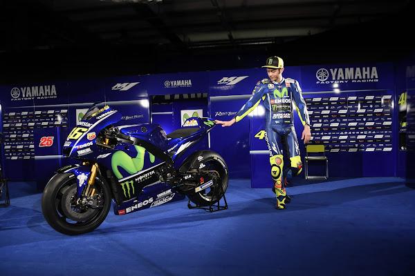 Valentino Rossi VR46 2017 Yamaha