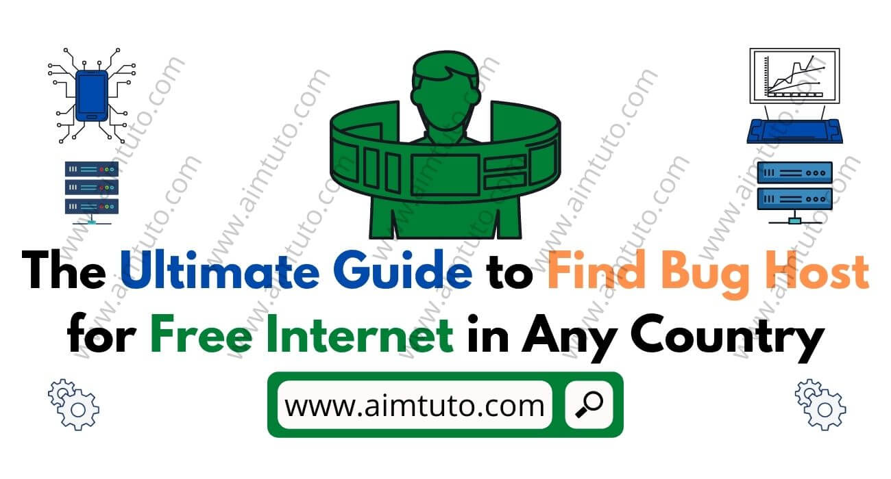 how to find bug host for free internet