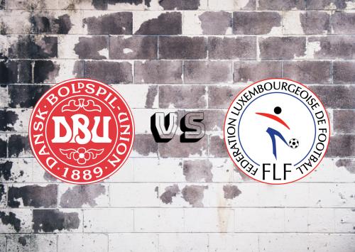 Dinamarca vs Luxemburgo  Resumen