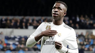 I had option to choose between Madrid and Barcelona and had two days to choose: Vinicius