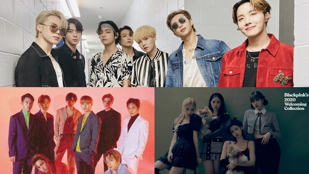 List of The Most Popular K-pop Groups in April 2020