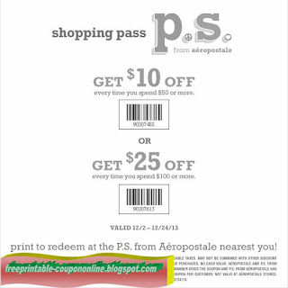 Free Printable The Limited Coupons