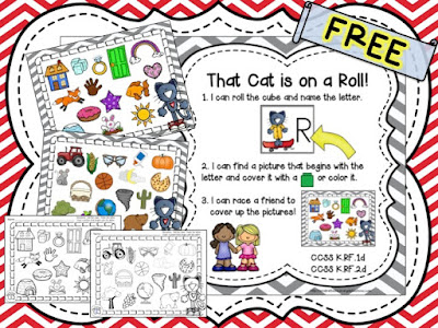 https://www.teacherspayteachers.com/Product/That-Cat-is-on-a-Roll-FREE-1983528