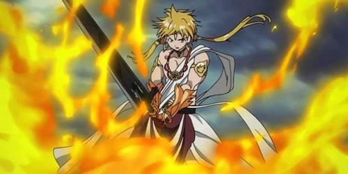 karakter anime pengguna kekuatan api paling kuat