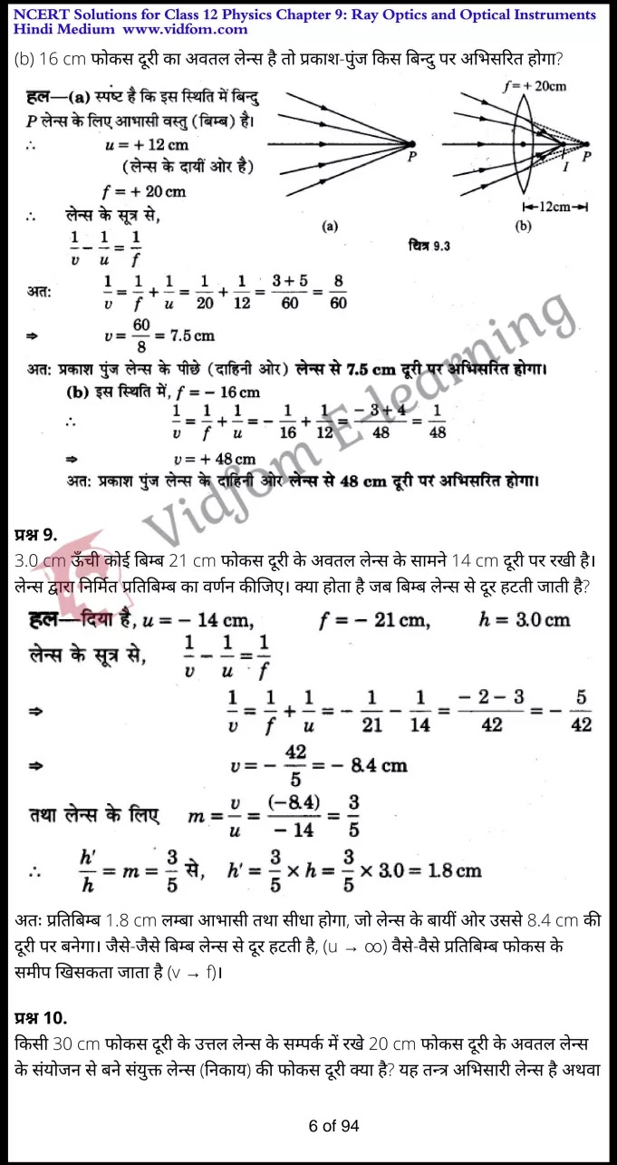 class 12 physics chapter 9 light hindi medium 6