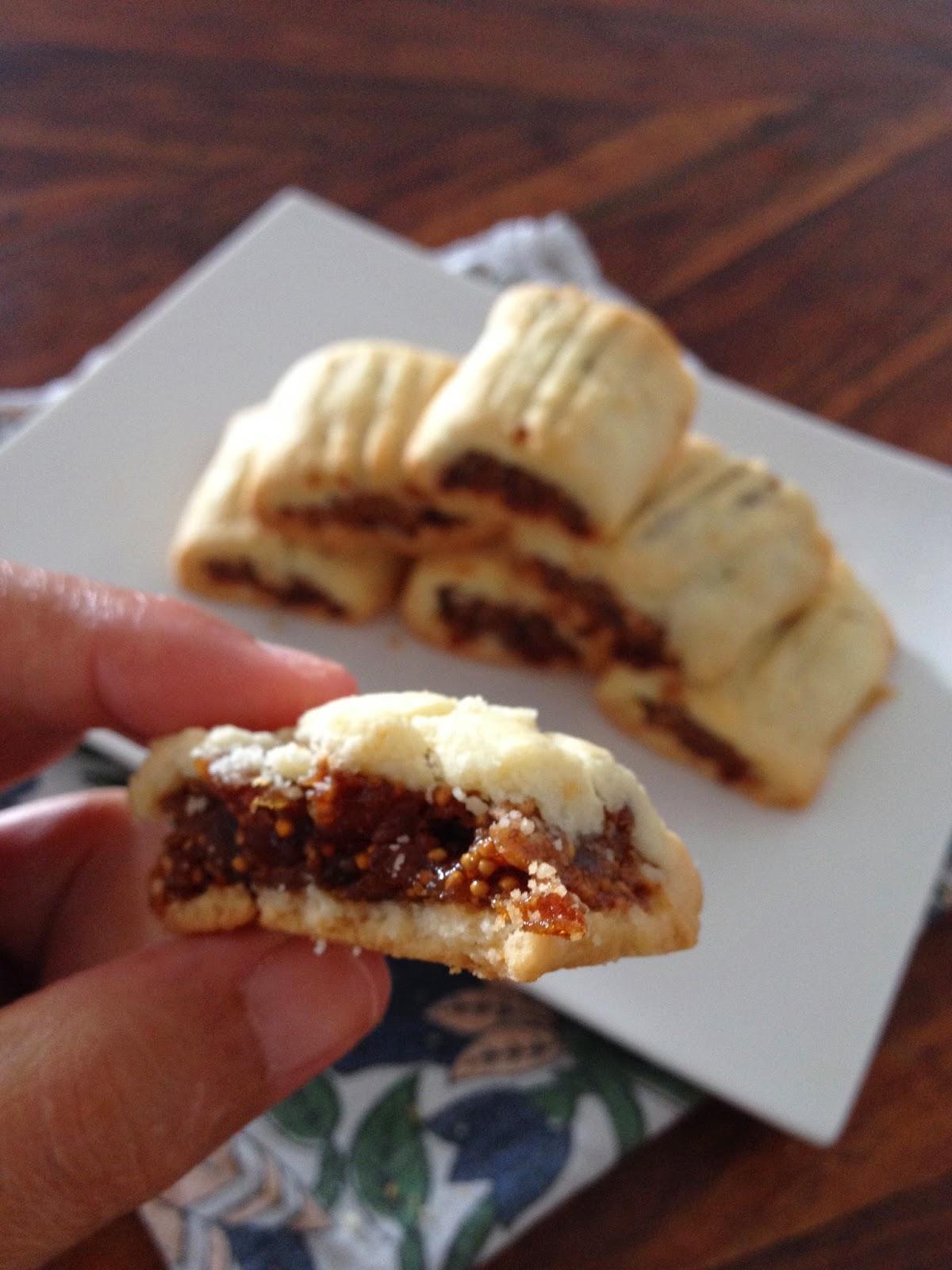 Sweet Kwisine, sablés, figolus, figue, pâte de figue, biscuits, pâte sablée, sans oeuf,