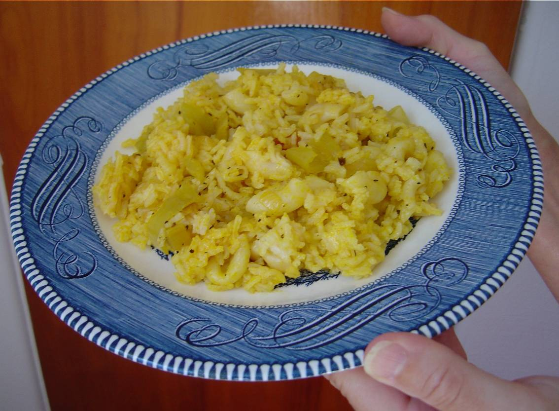 My Rice Pilaf for a Quick Lunch or Tasty Side Dish