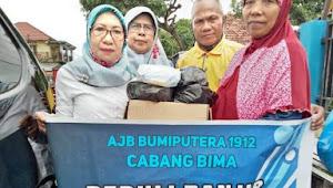 AJB Bumiputera Wilayah Bima Salurkan Bantuan Berbagai Desa Kecamatan Bolo