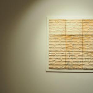 """Peça de l'exposició """"La llum d'aigua i fang"""" realitzada pel ceramista Pep Madrenas (crèdit: Monmar Comunicació)"""