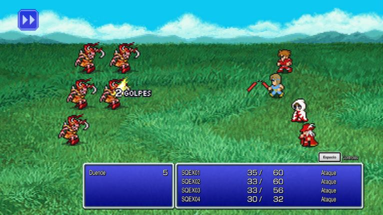Final Fantasy Pixel Remaster PC Full Español