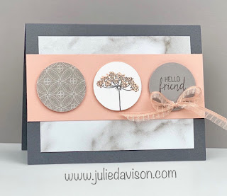 4 Stampin' Up! Queen Anne's Lace Cards ~ Peony Garden ~ www.juliedavison.com #stampinup