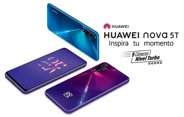 HUAWEI NOVA 5T EN PERÚ