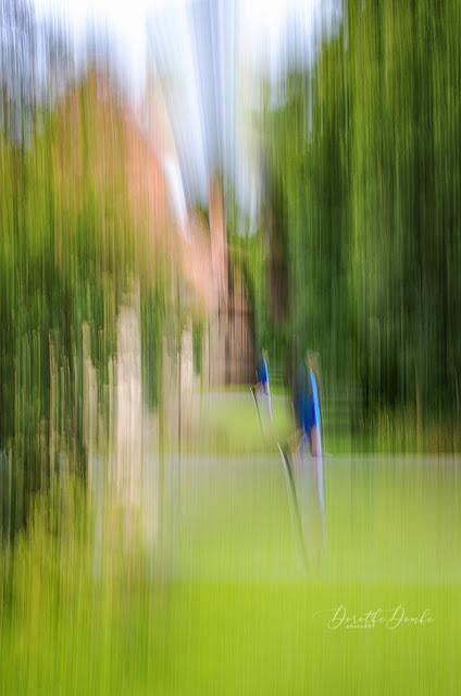 Spaziergang, icm, intentional camera movement, gestische Fotografie, Fotokunst, photoart, art, Dorothe Domke