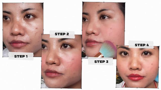 Step by step korean makeup