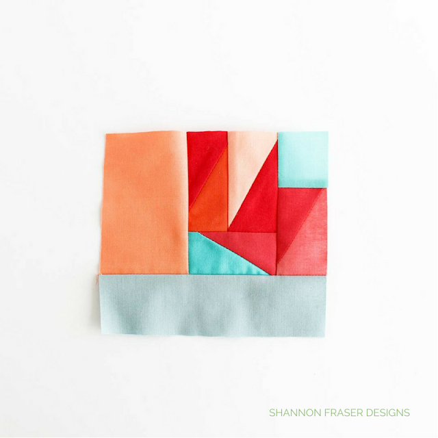 I'm sharing all about my 100-days of Modern improv quilting project. Fun creative challenge to hone your skills. Shannon Fraser Designs textile art.