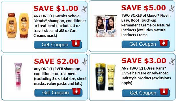 loreal-garnier-shampoo-clairol-print-coupons