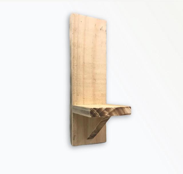 Porta vaso em madeira de pallet