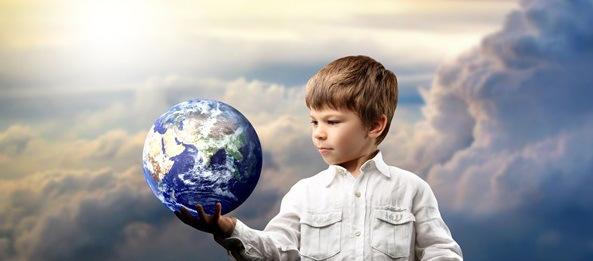 Un niño arregla el mundo