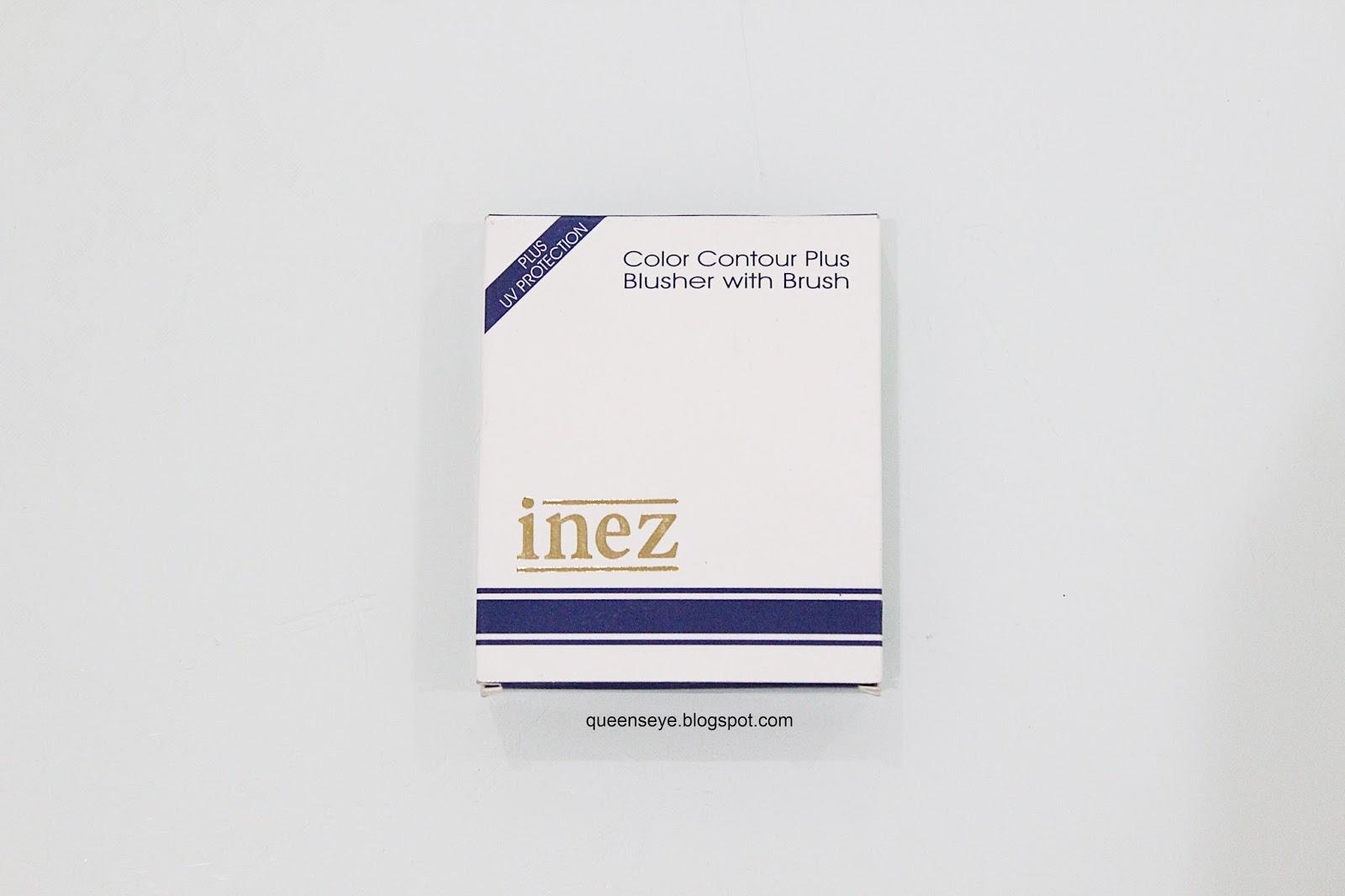 Inez Blusher 08 Gold Dipped Daftar Harga Terkini Dan Terlengkap Contour Plus Lipstick Riviera Blush Packaging Memang Nggak Menarik Terlihat Rapuh Desainnya Jadul Banget Warna Biru Gelap