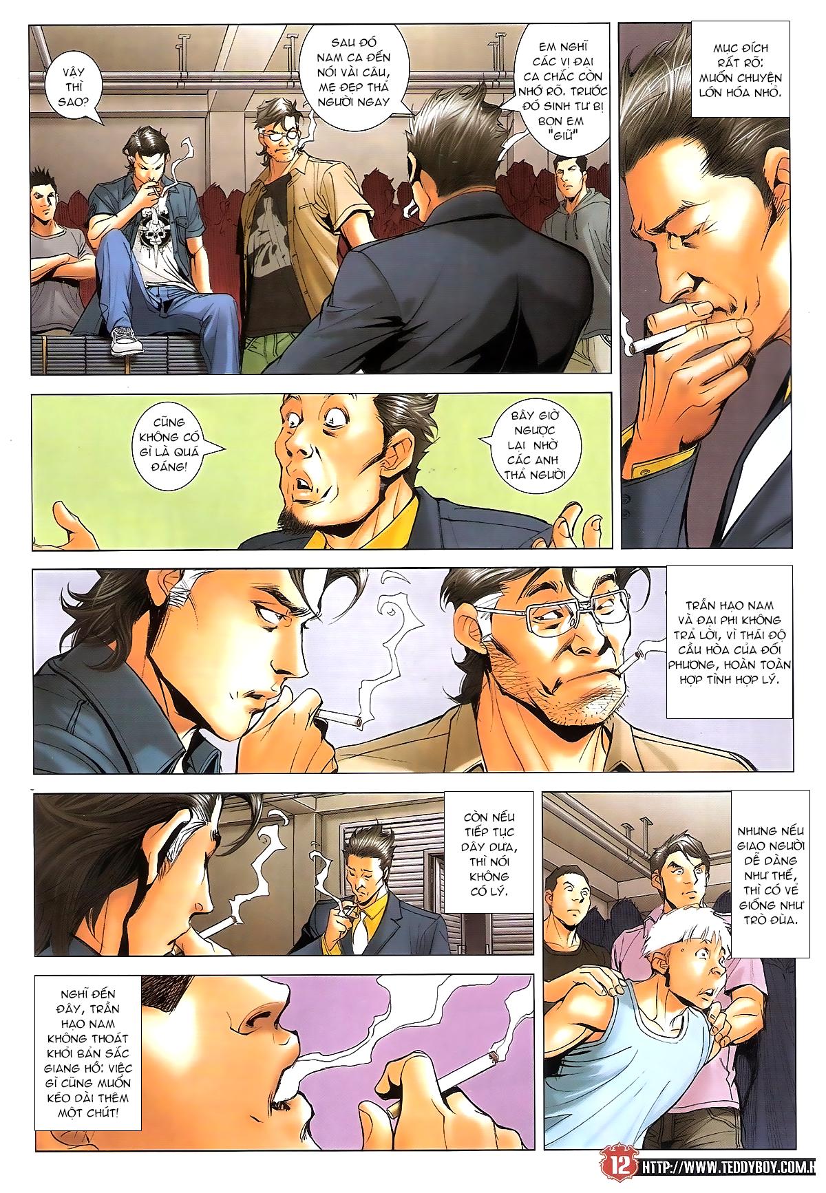 Người Trong Giang Hồ chapter 1641: lão tưởng trang 11