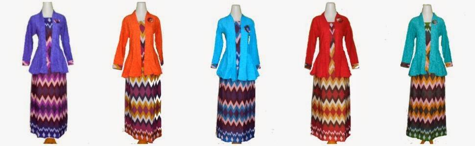 Batik setelan rok panjang