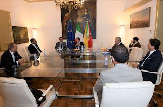 Regione Siciliana - Musumeci incontra i neo presidenti dei Parchi regionali