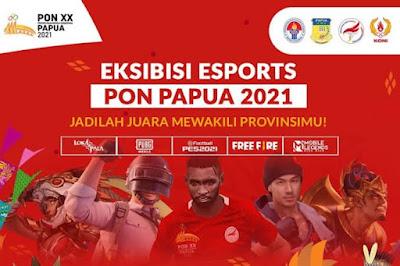 8 Provinsi Yang Berhasil Dapatkan Tiket Final PON XX Papua Cabor Esport Mobile Legends, Siapa saja?