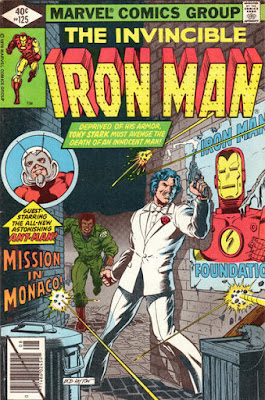 Invincible Iron Man #125