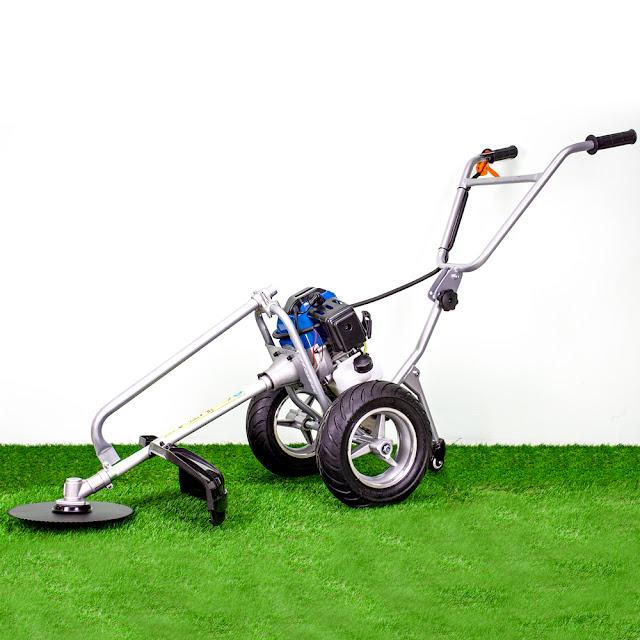 เครื่องตัดหญ้ารถเข็น 2 จังหวะ 2.4 แรงม้า ราคาถูก