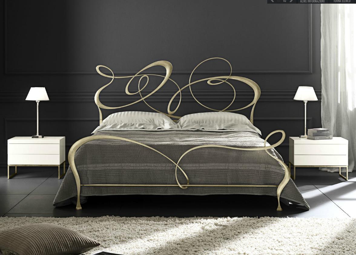 Arredamento e Design: I letti in ferro battuto. Abilità artigianale e ricerca estetica
