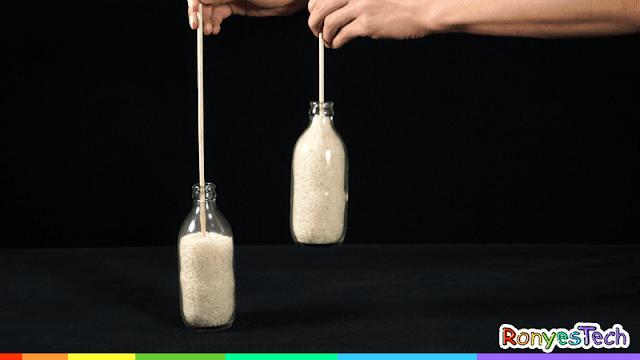 Floating Rice Bottle