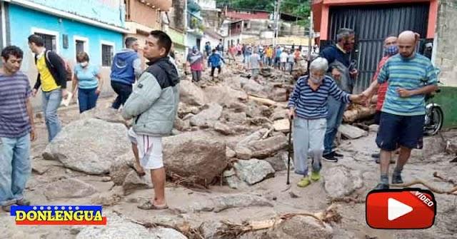 Van 14 fallecidos en el Municipio Tovar de Mérida bajo las aguas por culpa de la Lluvia y del Régimen