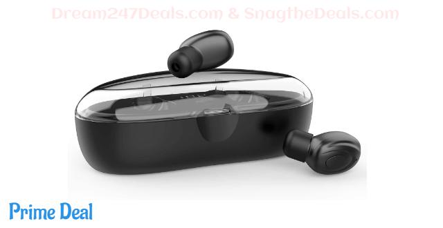 True Wireless Bluetooth Earbuds TWS Headphones 71% OFF