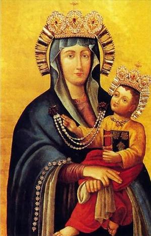 Obrazy Matki Bożej łaskami słynące w woj. śląskim