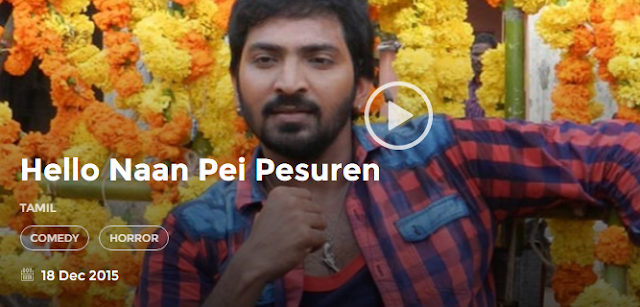 Hello Naan Pei Pesuren 2015 Tamil Full Movie 300Mb HD