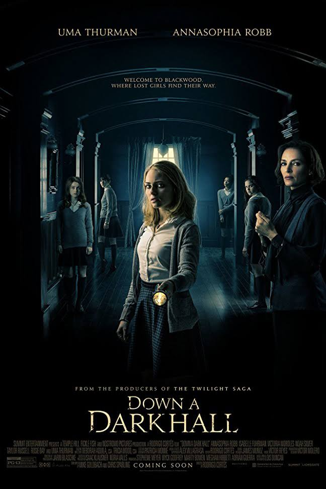 Down a Dark Hall (2018) Sub Indo
