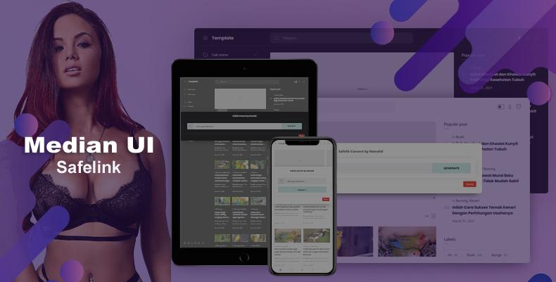 Median UI 1.5 Savelink v3 Blogger Template