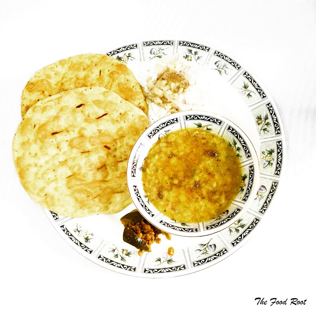 Dal Pakwaan is an authentic delicacy among Sindhis. It is mostly served as breakfast or brunch and loved by everyone.