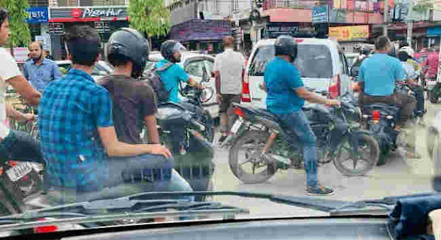 Ban on Pillion Riding Lifted in Guwahati
