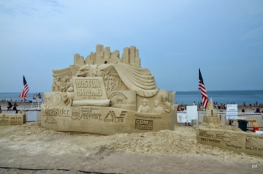 Revere Beach National Sand Sculpting Festival in Massachusetts