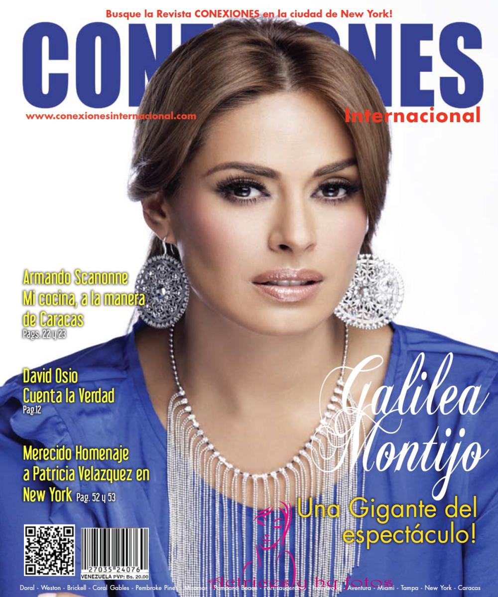 29e64ea206 Revista Conexiones - Galilea Montijo (Una Gigante del espectáculo)